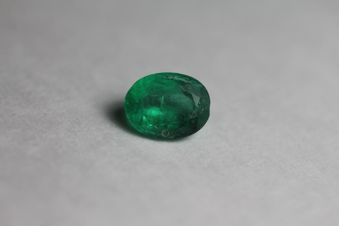 Natural Green Emerald 1.70 Carats - No Treatment