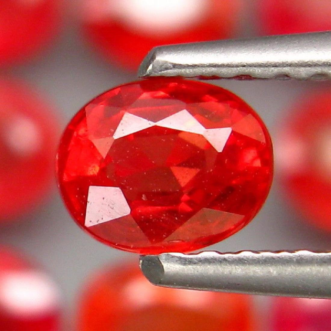 Natural  Red Sapphires  3.72 Carats - 2
