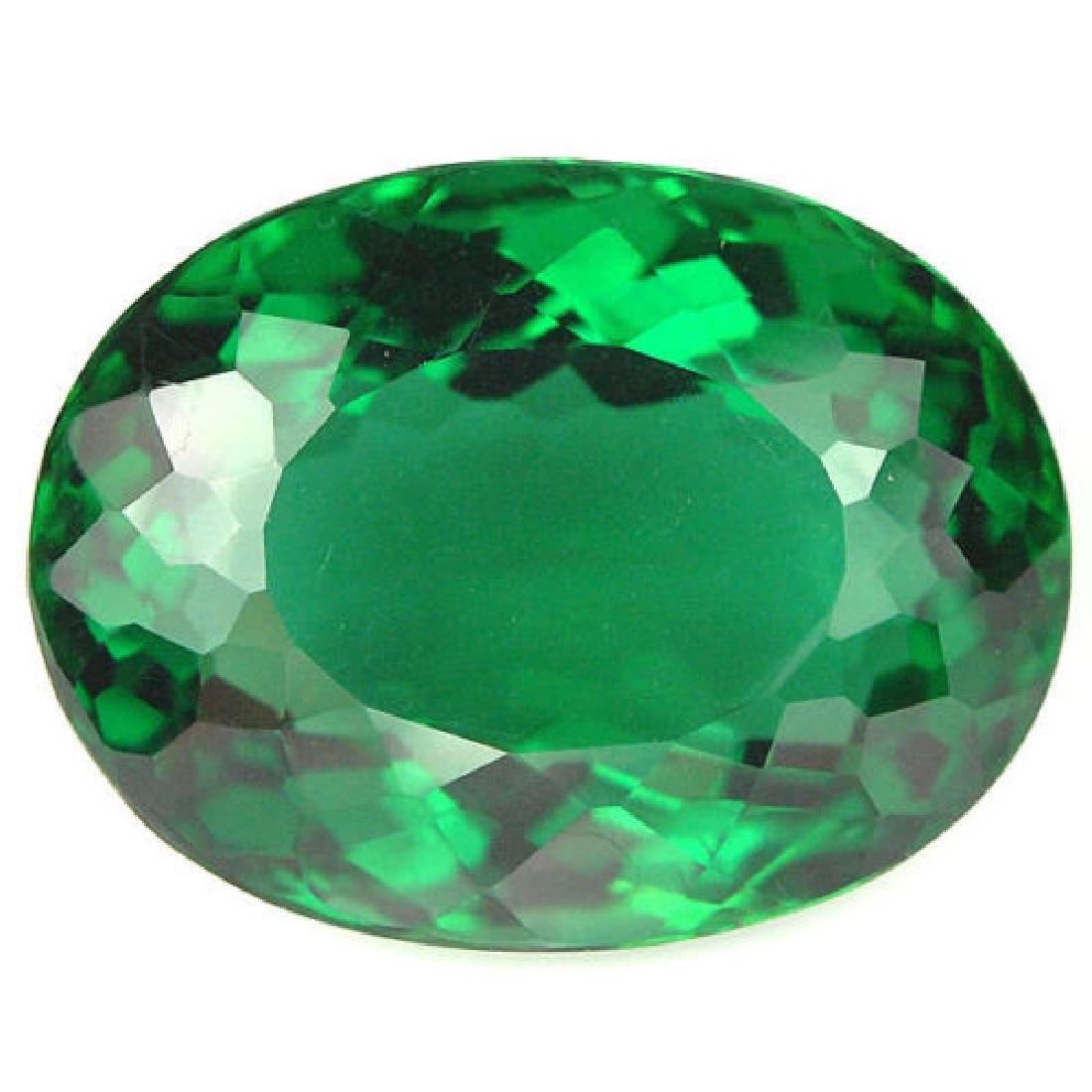 Natural Green Amethyst 21.75 carats - Flawless
