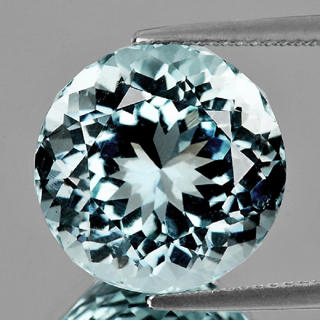 Natural Sky Blue Aquamarine 3.56 Ct - FL