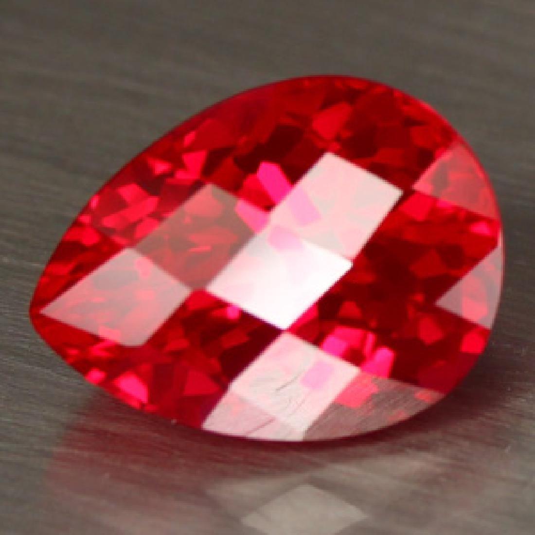 Natural Red Topaz 17.86 Carats - VVS