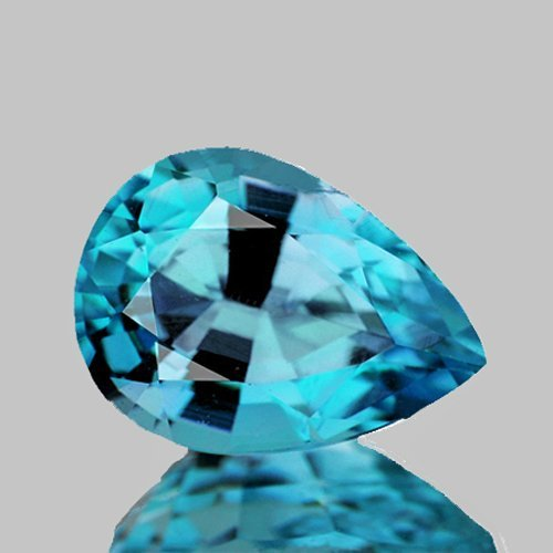 Natural Blue Zircon 2.27 Cts - Flawless