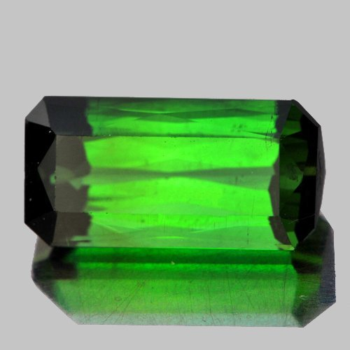 Natural Chrome Green Tourmaline 2.84 Cts - Flawless