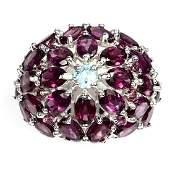 Pink Raspberry Rhodolite Garnet