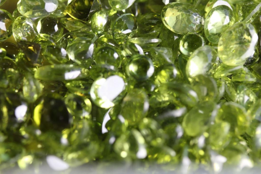 Natural Peridot 50 carats - 5