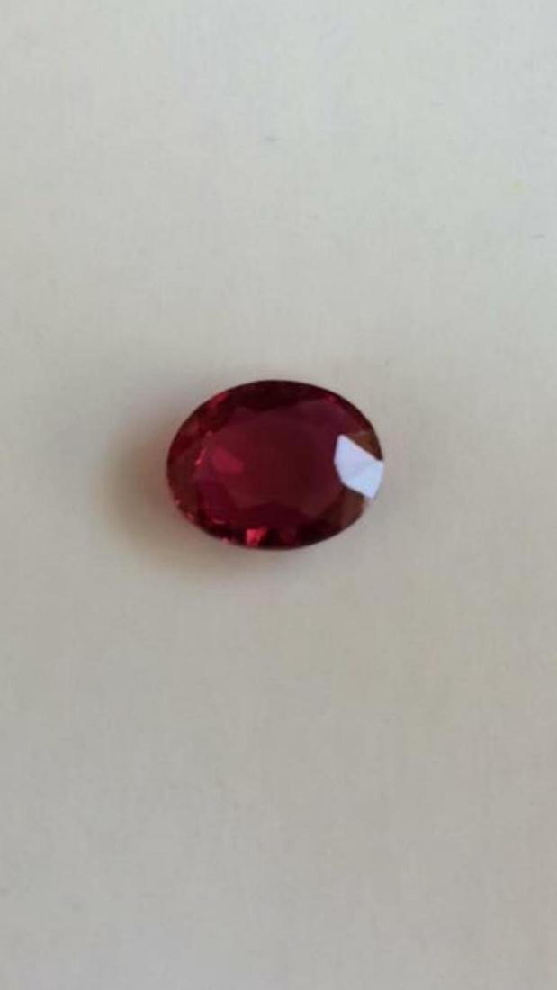 Natural Pigeon Blood / Vivid Red 1.93 Carats Ruby - GRS