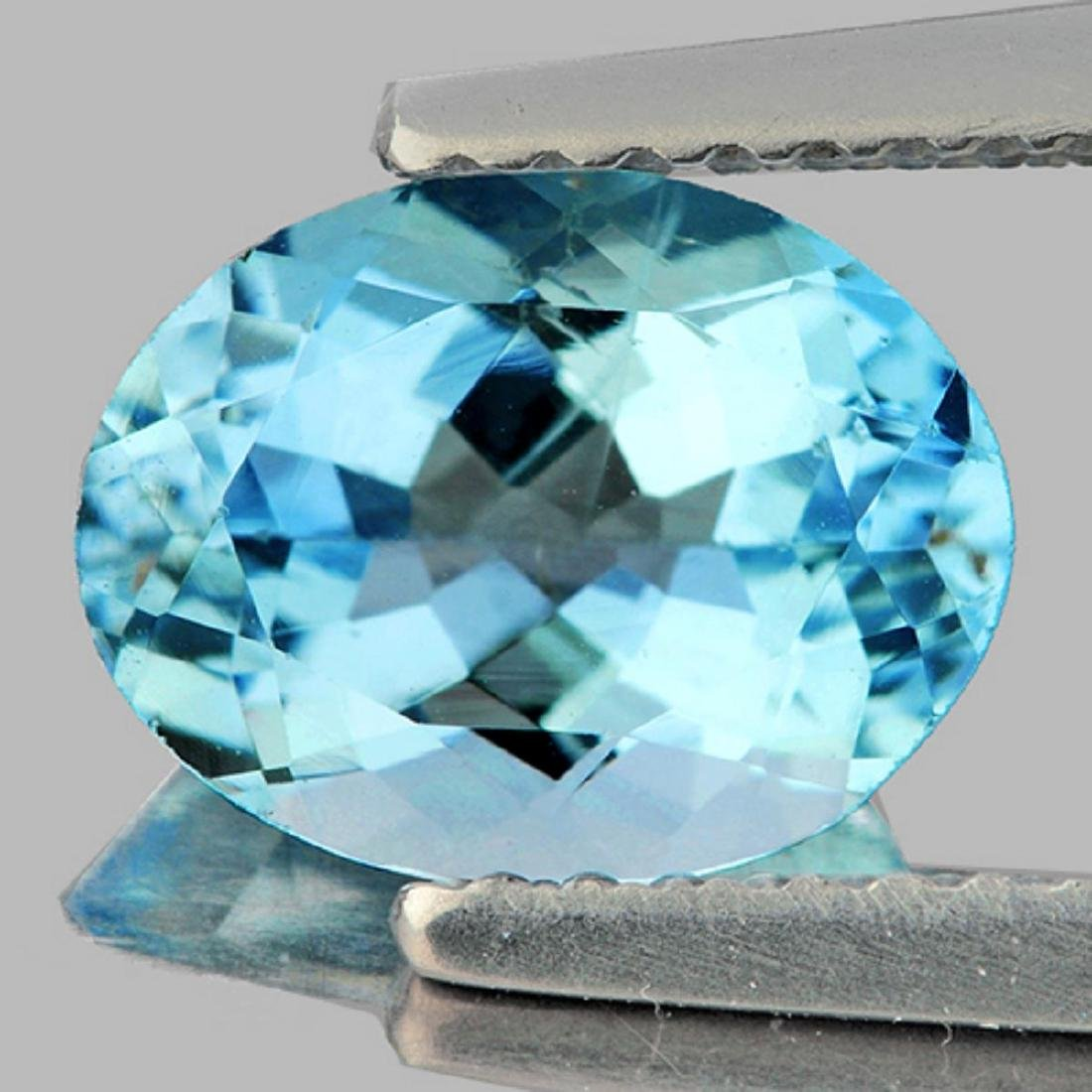 Natural Santa Maria Blue Aquamarine 1.87 Cts - FL