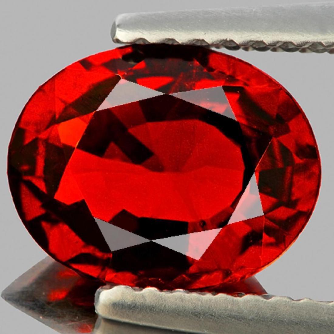Natural Deep Orange/Red Spessartite Garnet 2.35 Ct- VVS