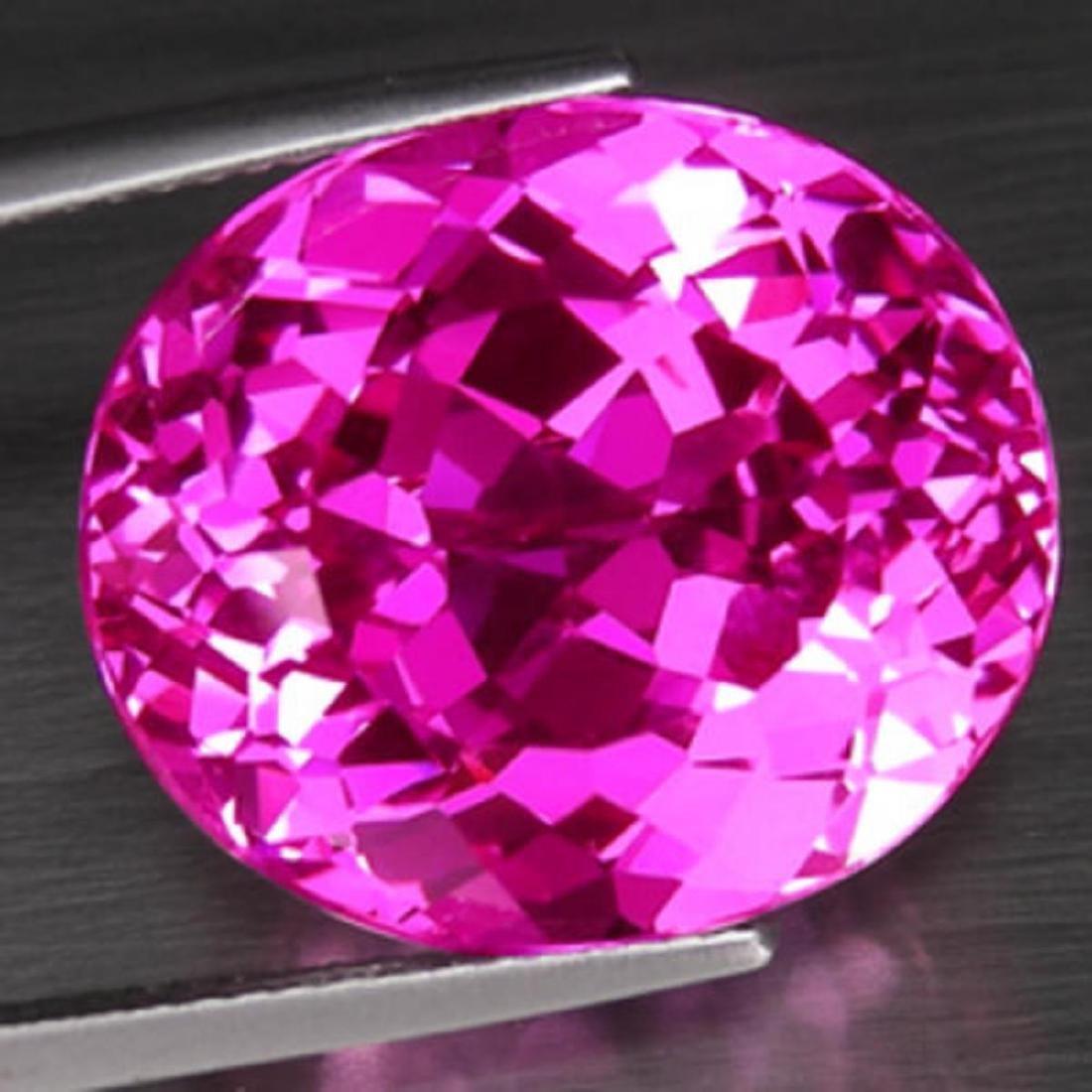 Natural hot Pink Topaz 20.00 carats - VVS