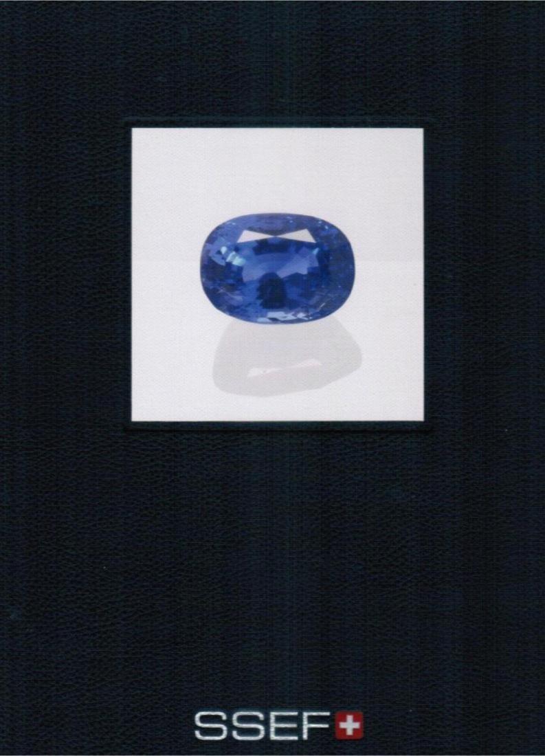 Natural Burma Sapphire 79.52 ct - Gubelin & Ssef