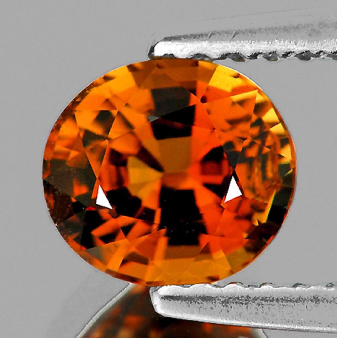 Natural AAA Vivid Orange Tourmaline 1.10 Ct- Flawless