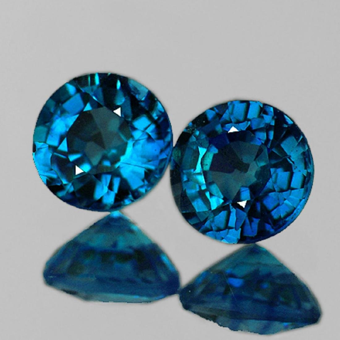 Natural Brilliant Blue Madagascar Sapphire {Flawless}