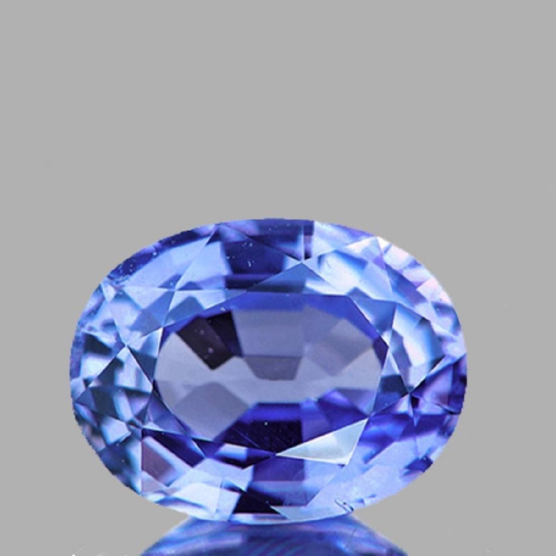 Natural Blue Sapphire 6x4 MM - VVS