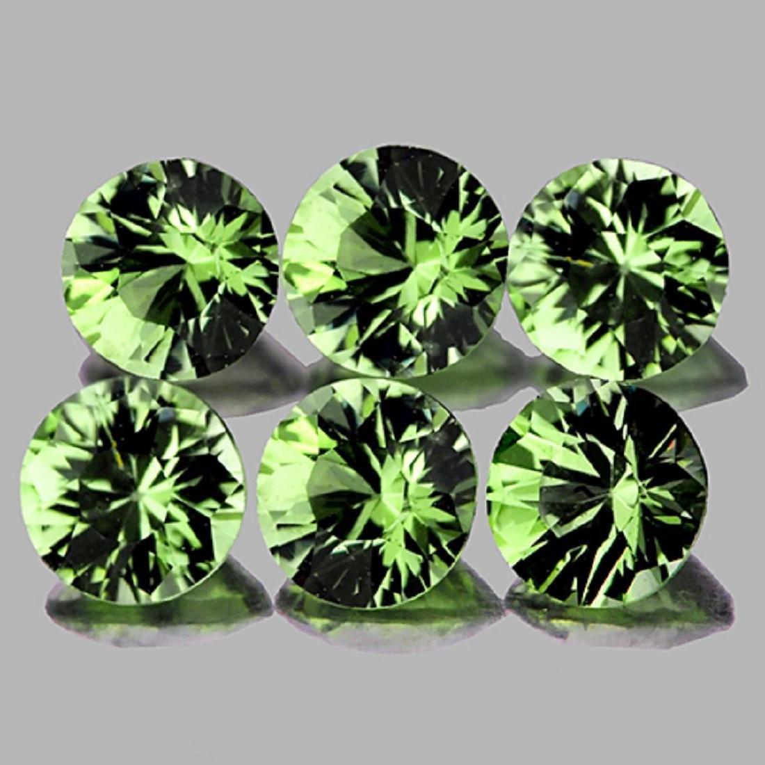 Natural Green Tourmaline 3.80 MM - VVS