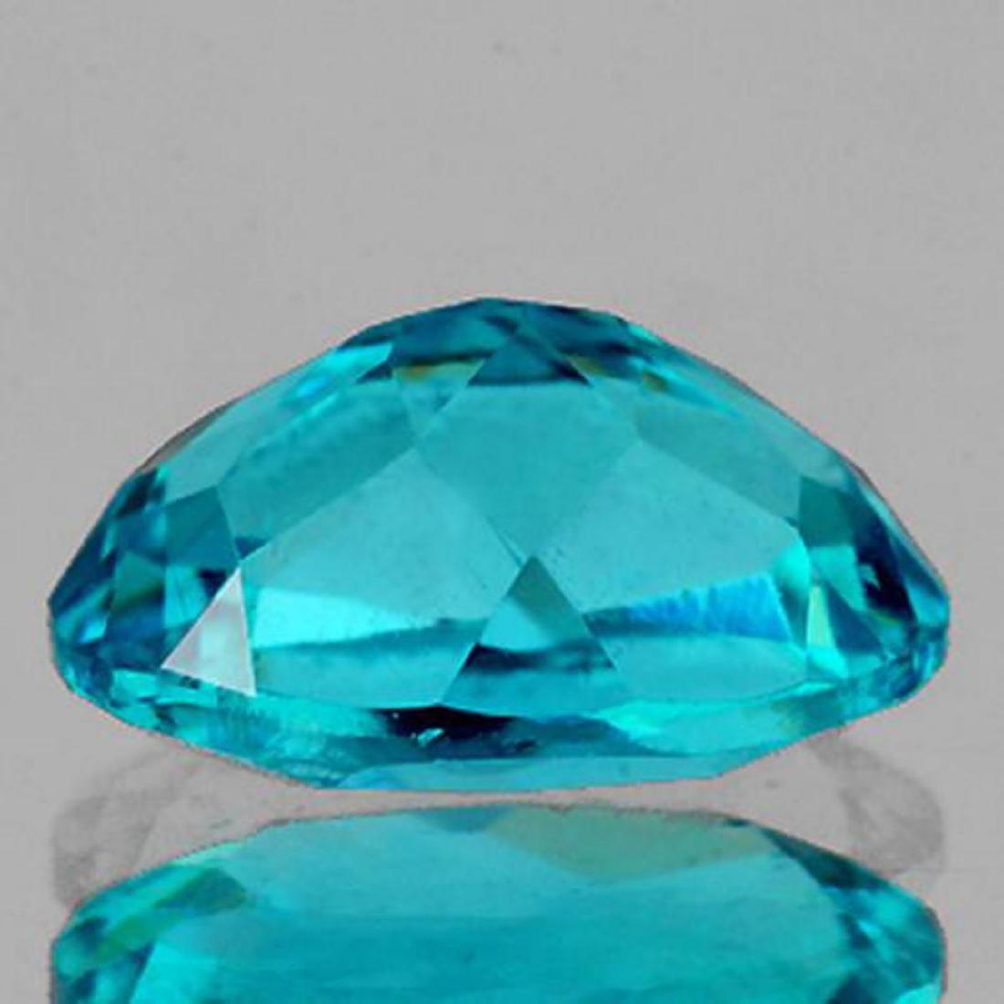 Natural Apatite Paraiba Blue Pair 7 x 5 mm - VVS - 2
