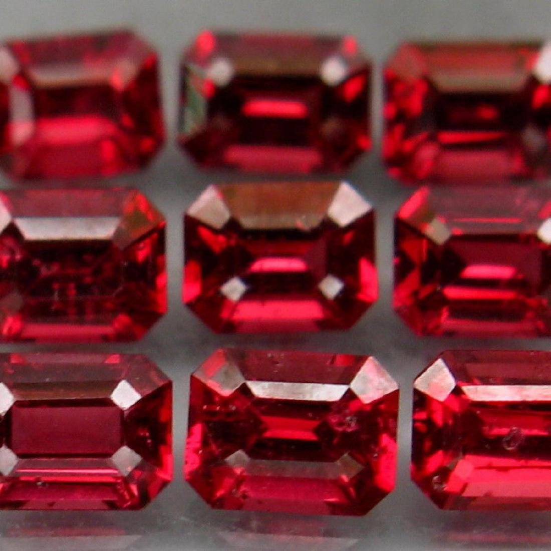 Natural Red Spinel 2.71 Cts - Untreated - 3