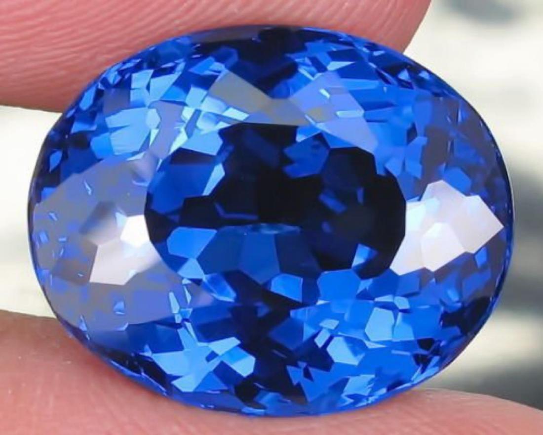 Natural London Blue Topaz 14.10 carats- VVS