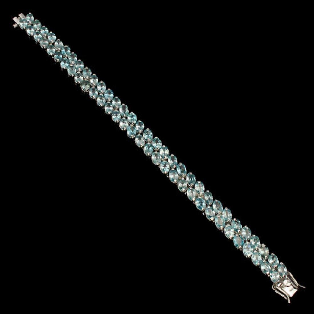 Nautral Combodian Zircon 146 Carats Bracelet - 3