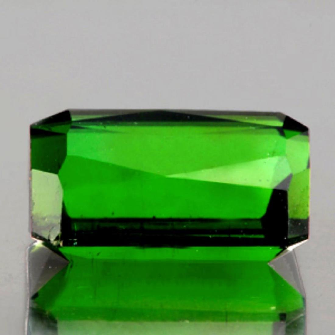 Natural Chrome Green Tourmaline 3.54 Cts - Flawless - 2