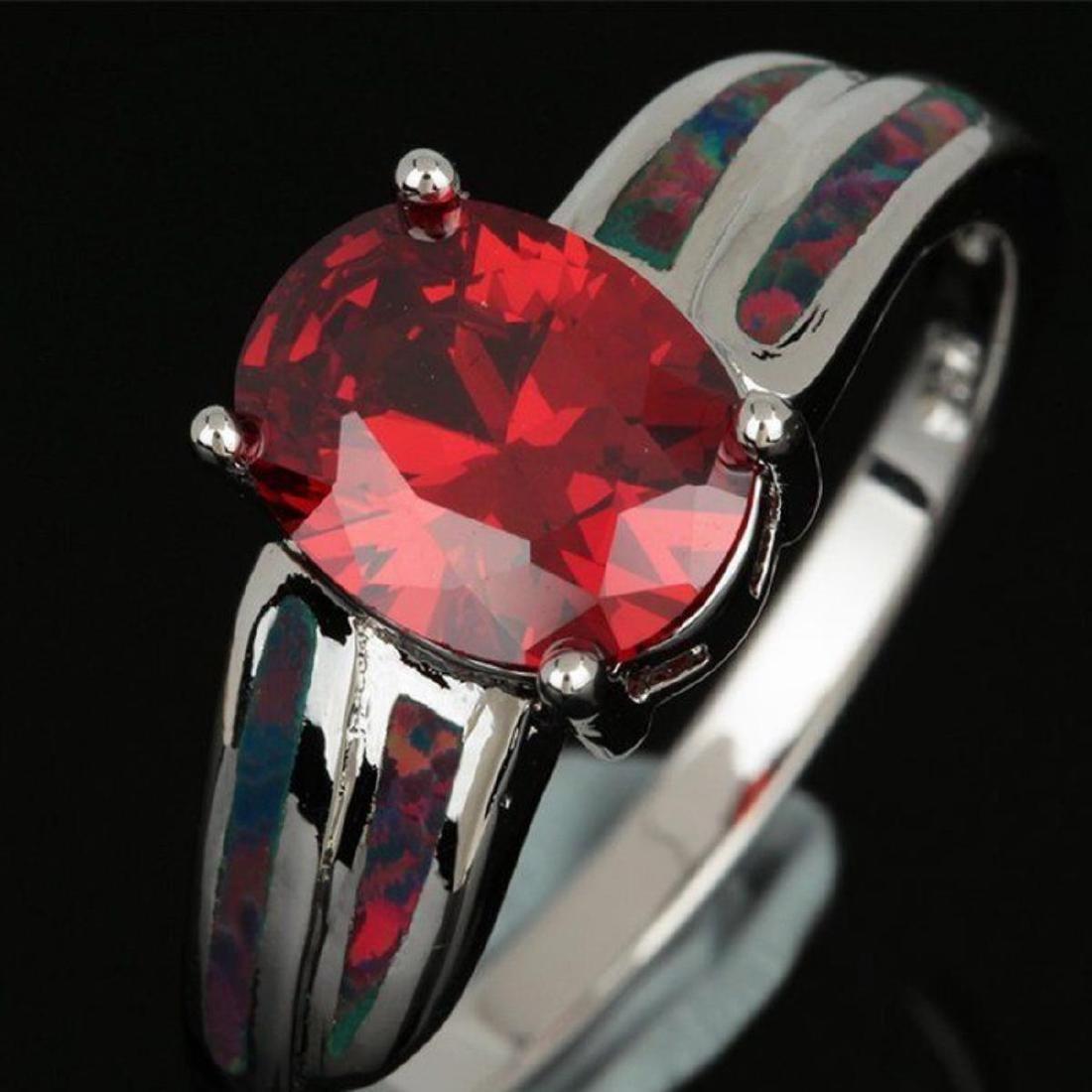 Natural Mozambique Garnet Ring