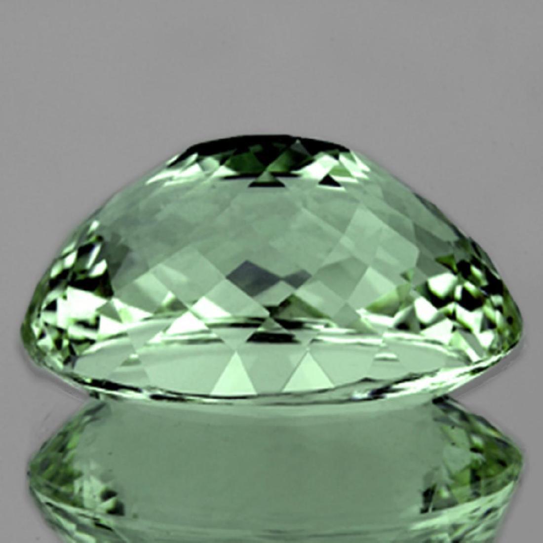 Natural Green Tea Color Green Amethyst 50.40 Cts - FL - 2