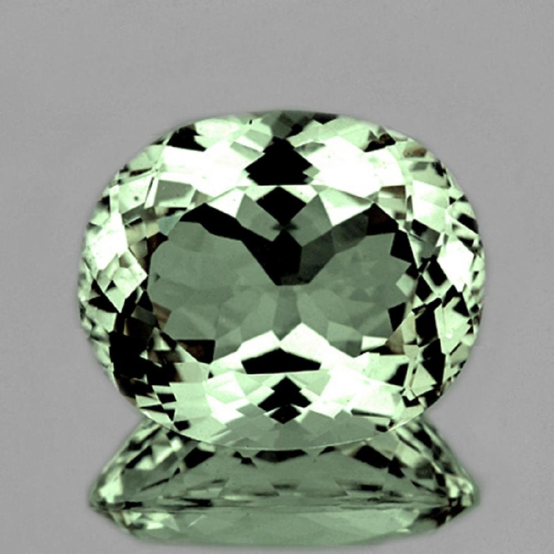 Natural Healing Green Color Amethyst 11.72 Ct - FL