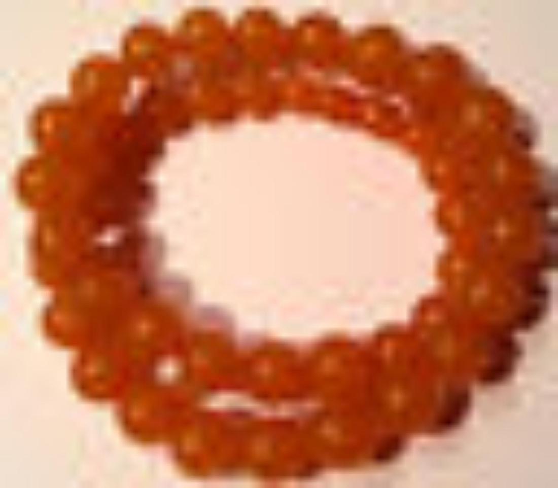 Vintage Natural Baltic Amber Beads Necklace 55.00 Grams - 4