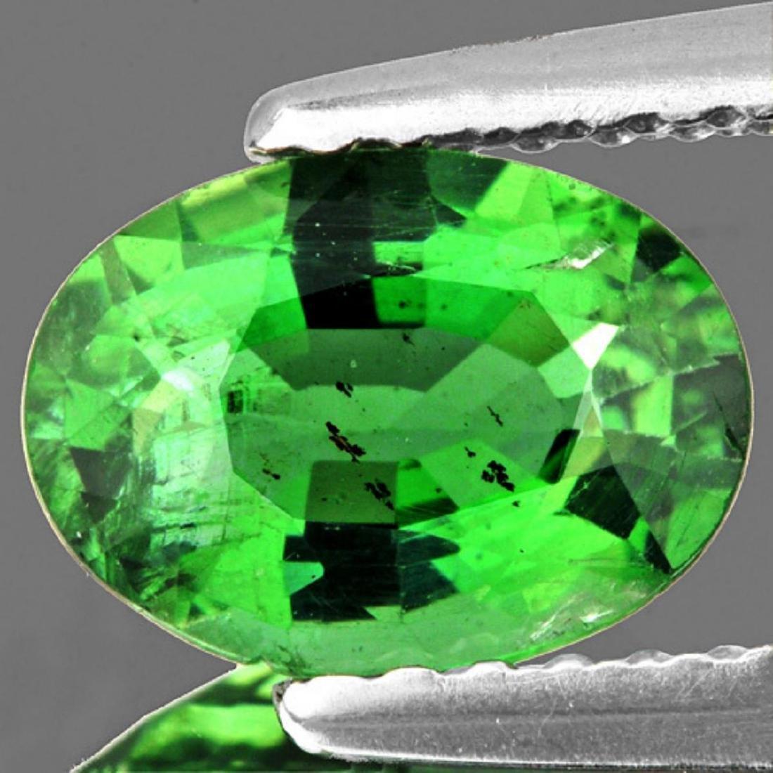 Natural Chrome Green Apatite 8x6 MM - VS