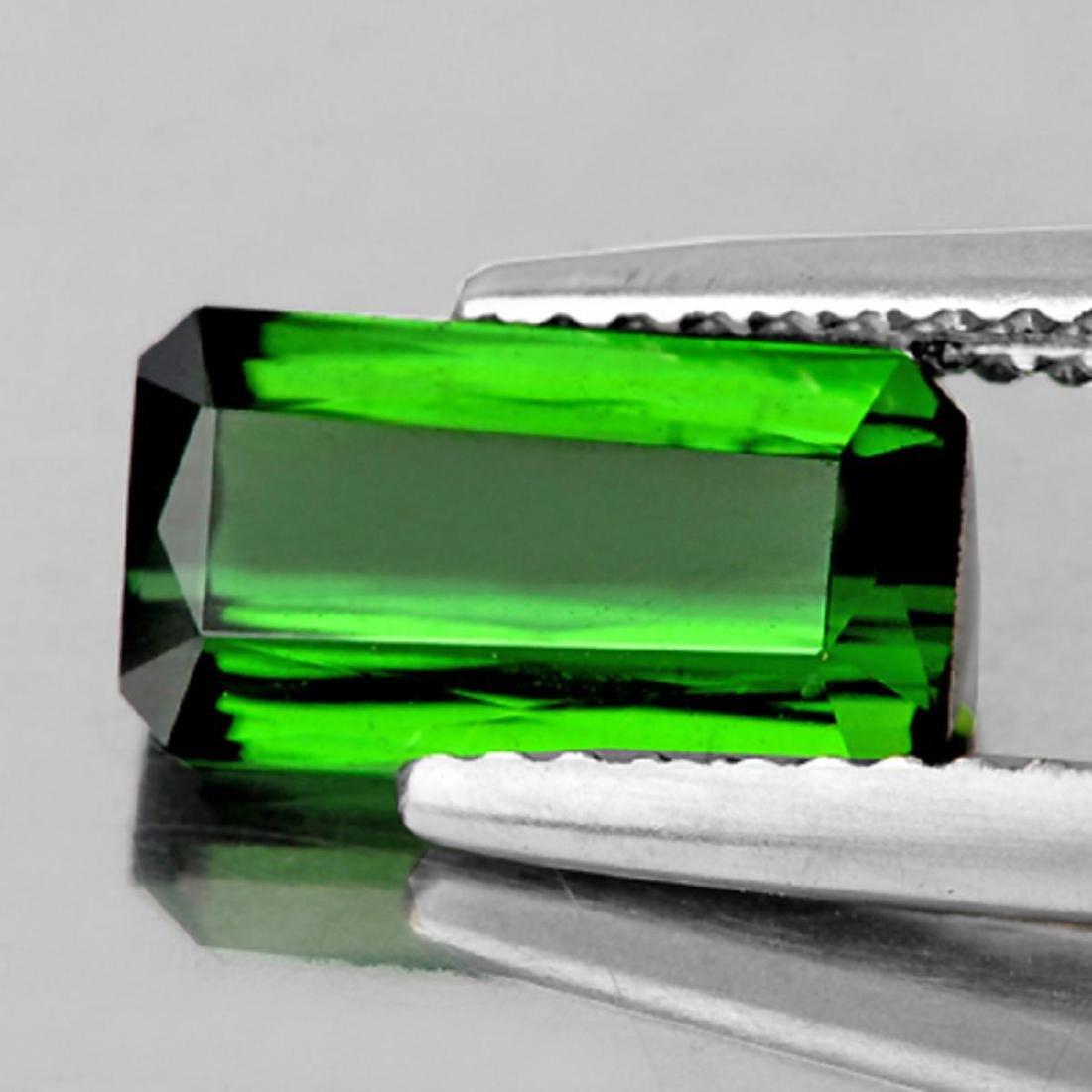 Natural AAA Chrome Green Tourmaline 10x5.5 MM - FL