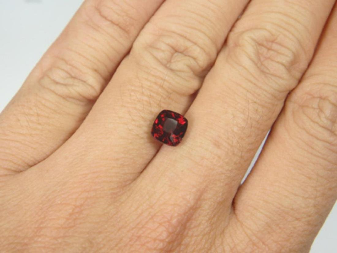 Natural Untreated Red Spinel Cushion 2.20 ct - GIA - 3