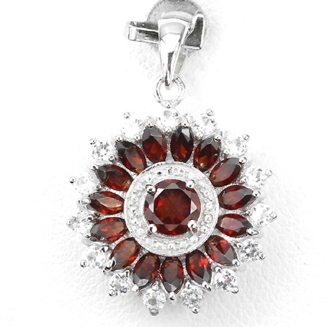 Natural Gemstone Pendant