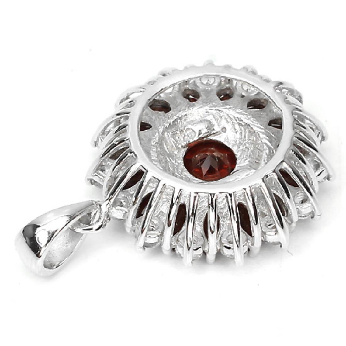 Natural Gemstone Pendant - 2