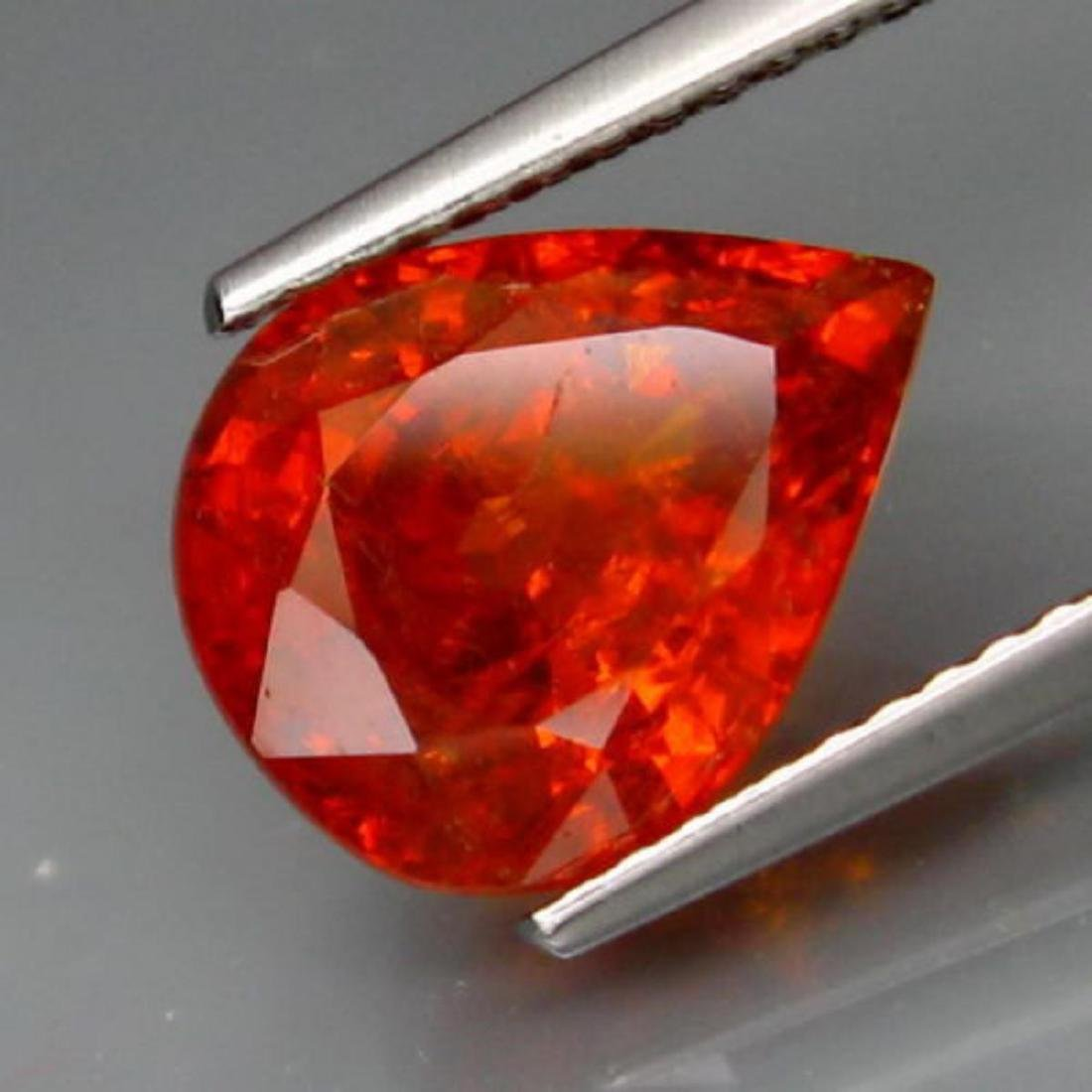 Natural  Mandarin Orange  Spessartite Garnet 4.66 Cts