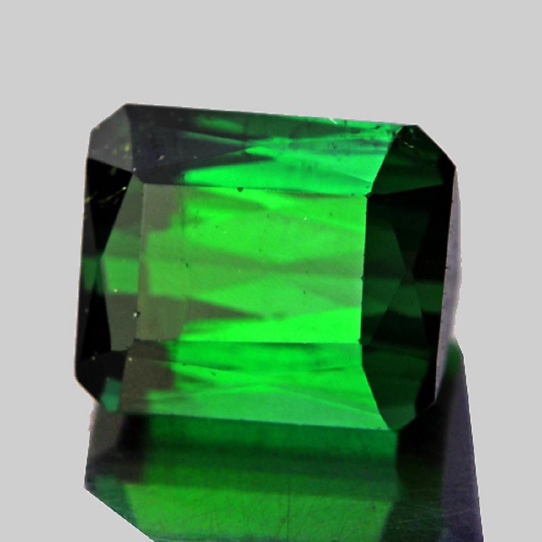 Natural  AAA Chrome Green Tourmaline 3.42 ct - FL