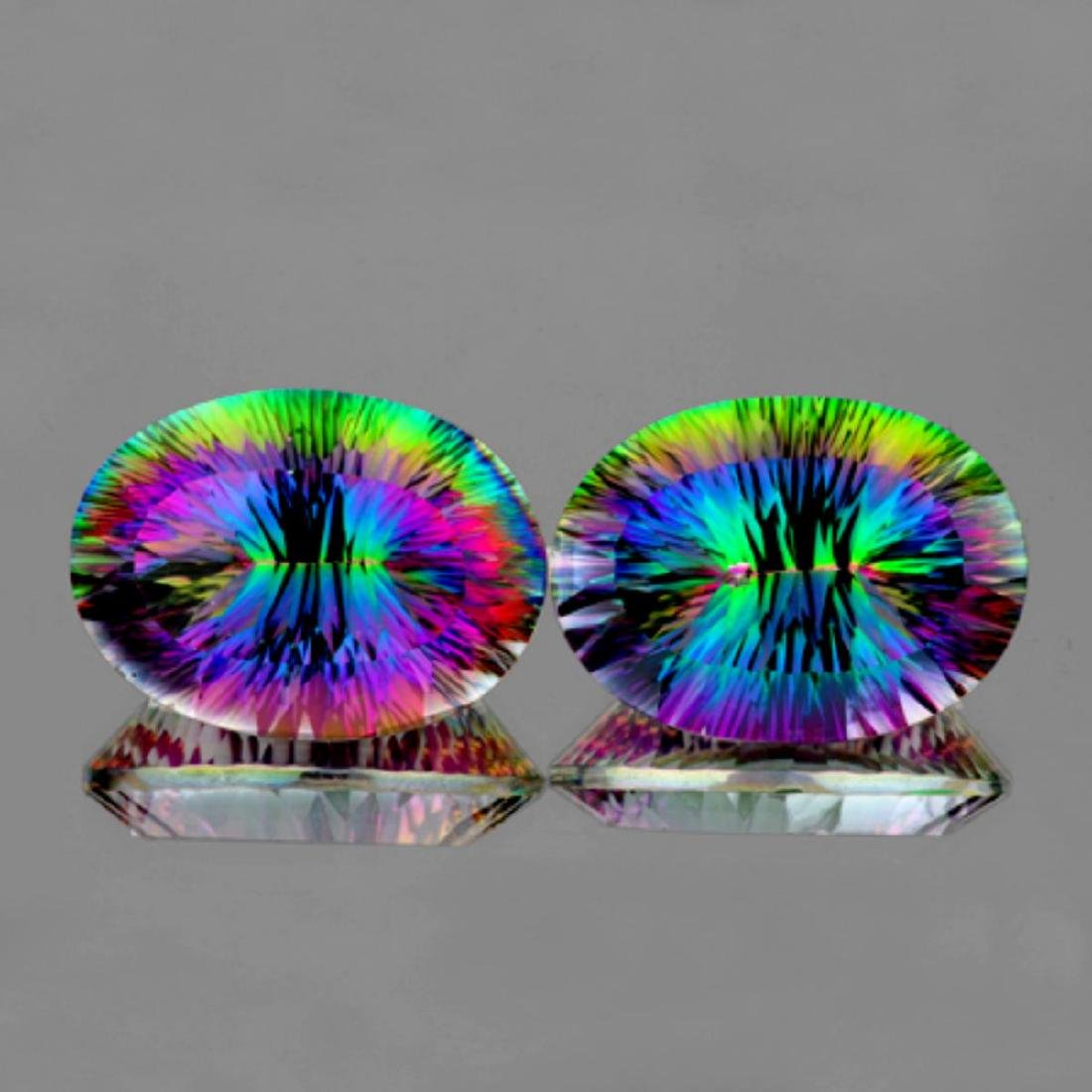 Natural Multi Color Mystic Topaz 60.12 cts - If