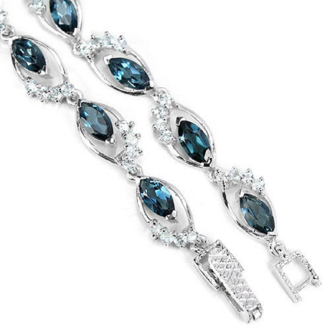 LONDON & SKY BLUE TOPAZ Bracelet - 3