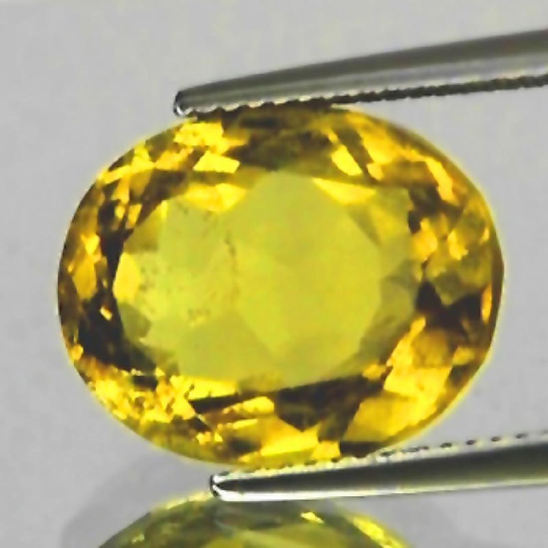 Natural Golden Yellow Citrine 9.30 Cts {VVS}