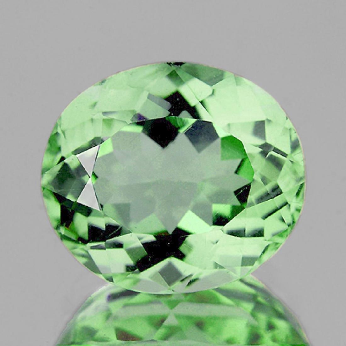 Natural Healing Green Color Amethyst 14.98 Cts - VVS