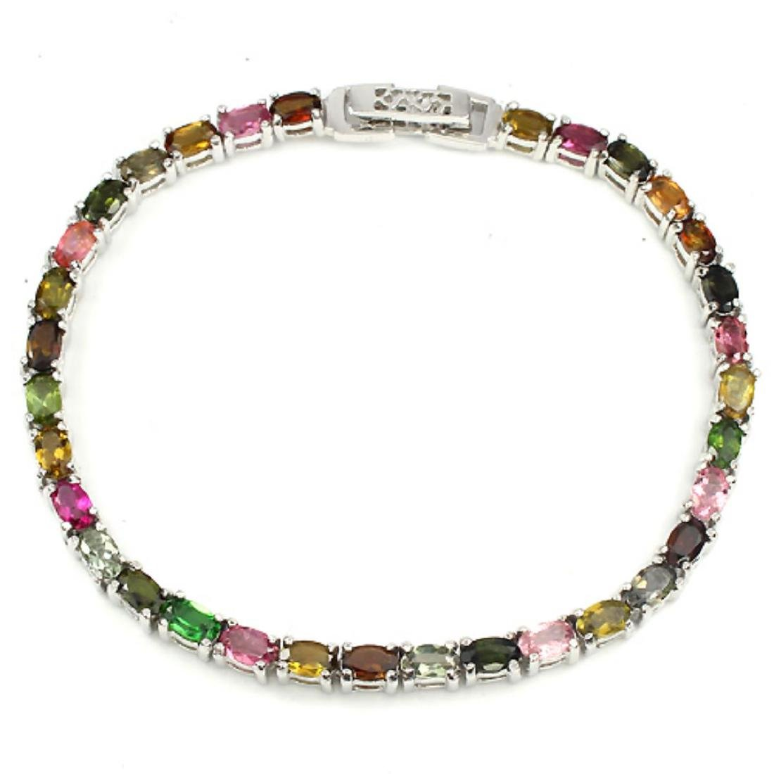 Natural Multi Gemstone Bracelet - 2