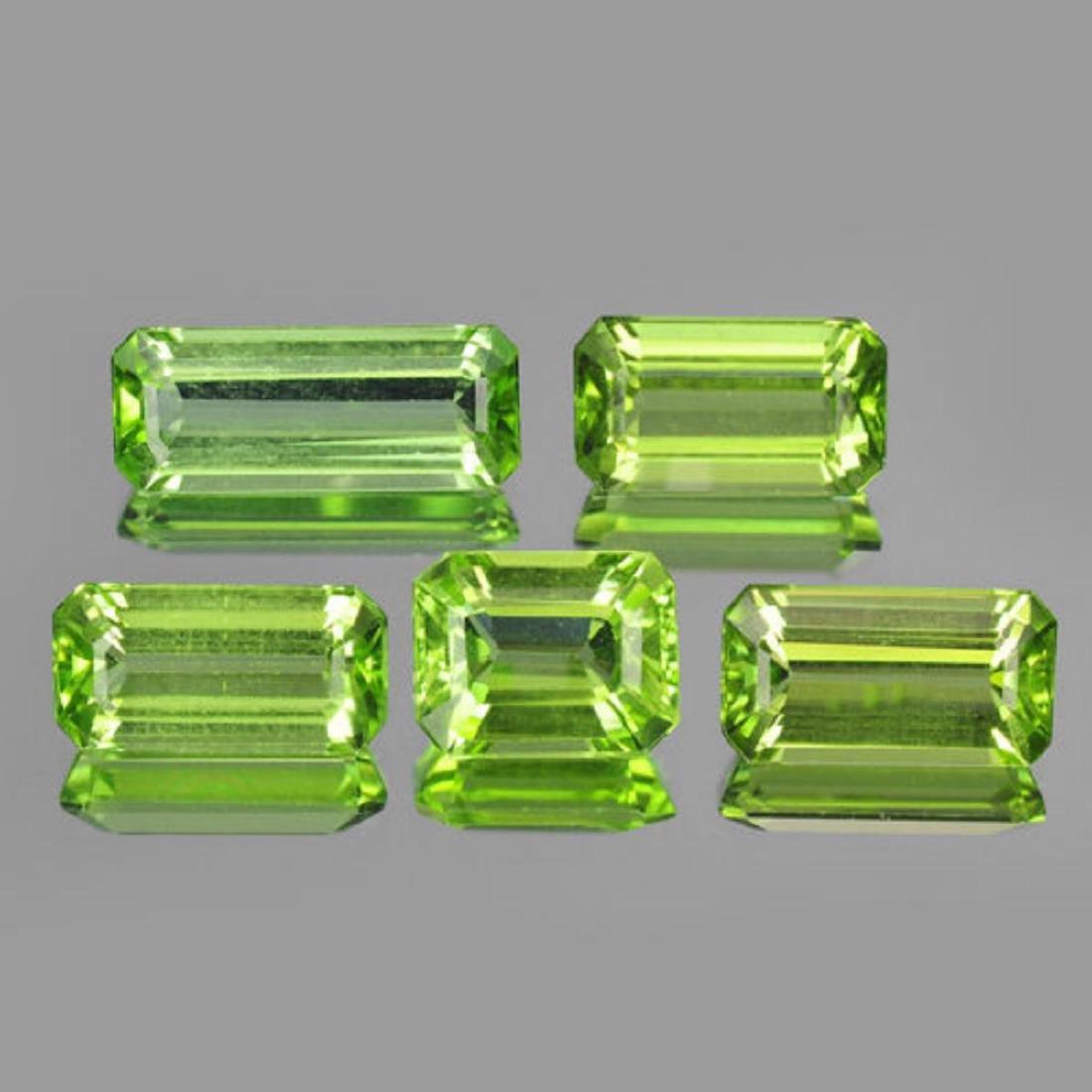 Natural Apple Green Peridot 8.30 carats