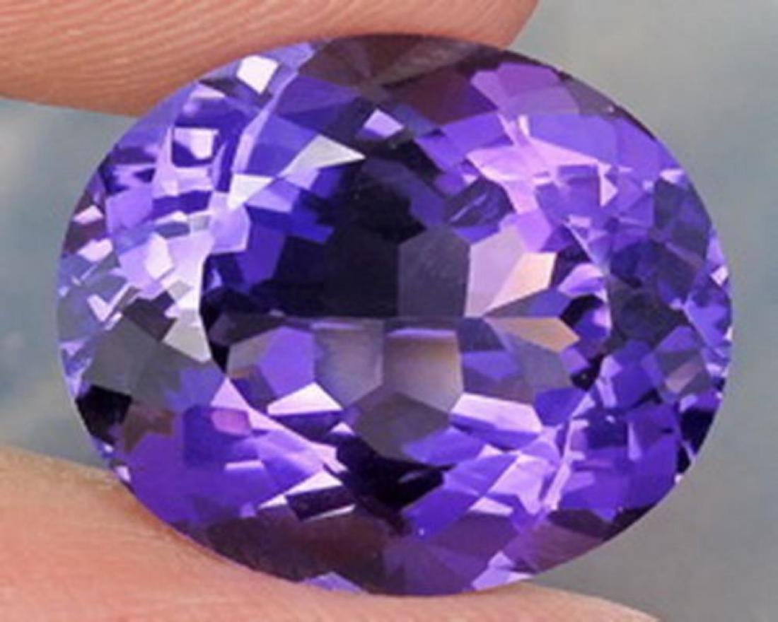 Natural Purple Amethyst 20.61 ct - no Treatment