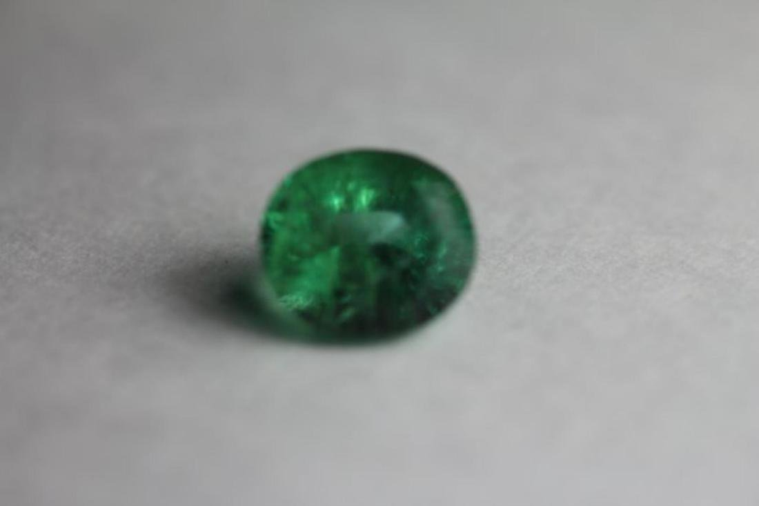 Natural Green Emerald 2.845 Carats - No Treatment