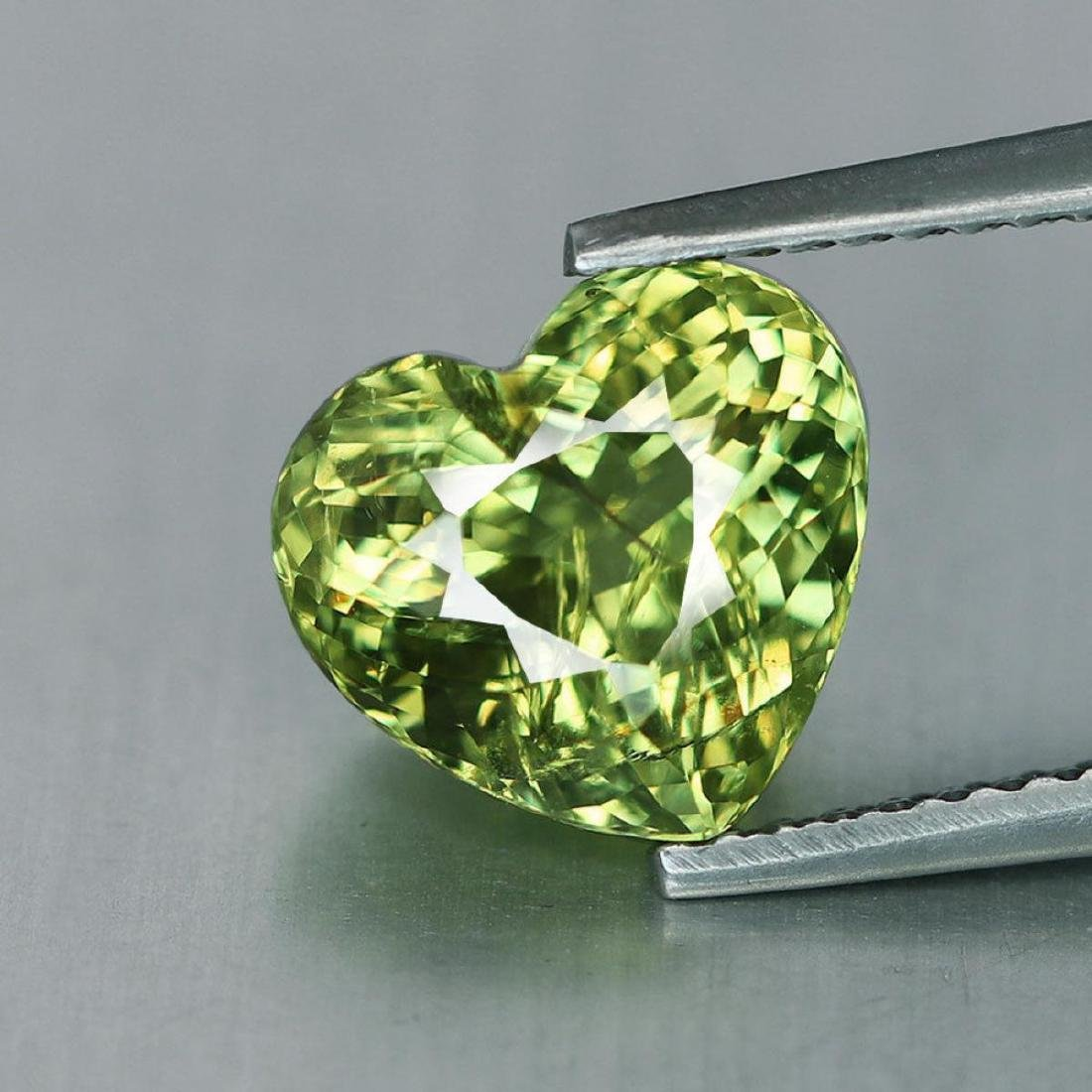 Natural Mali Garnet Heart 2.97 Carats