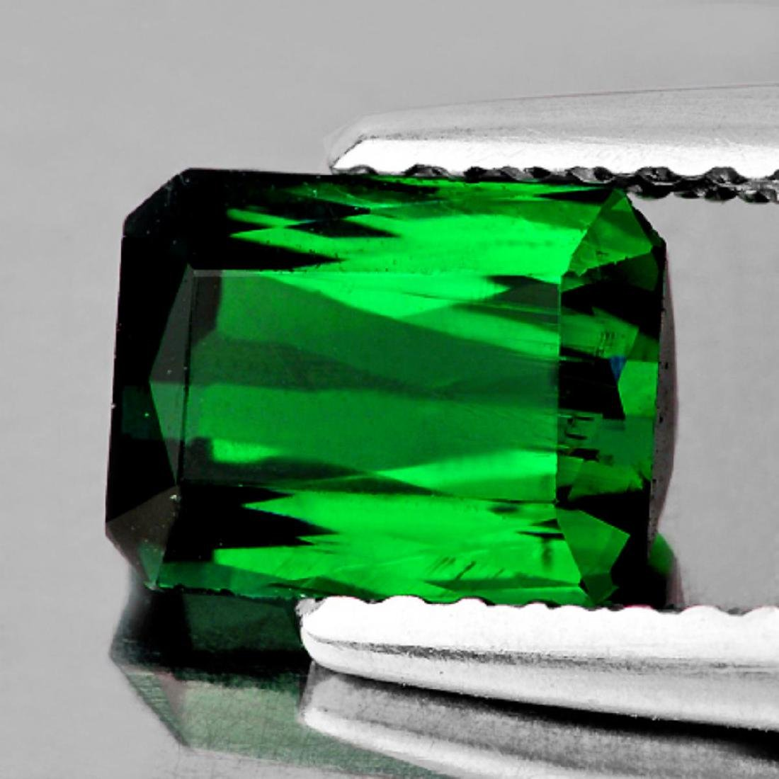 Natural AAA Chrome Green Tourmaline 9.5x6.5 MM - FL