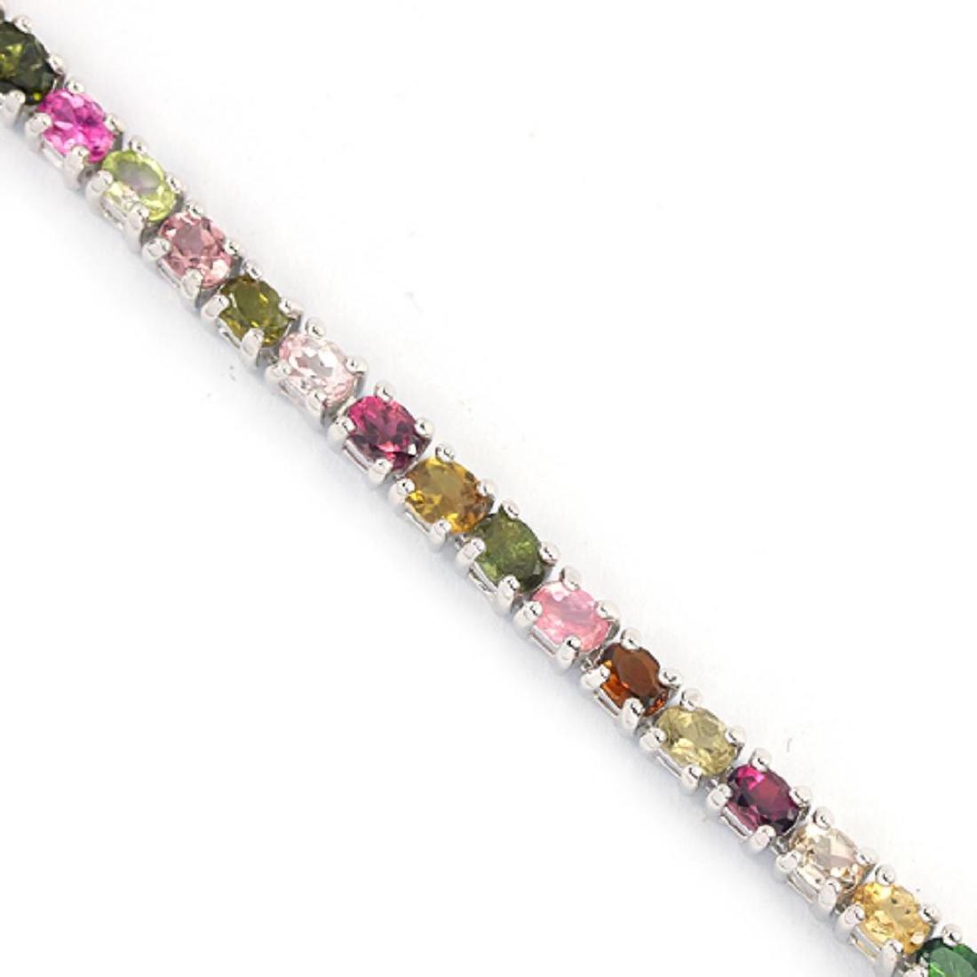 NATURL MULTI COLOR TOURMALINE Bracelet - 2