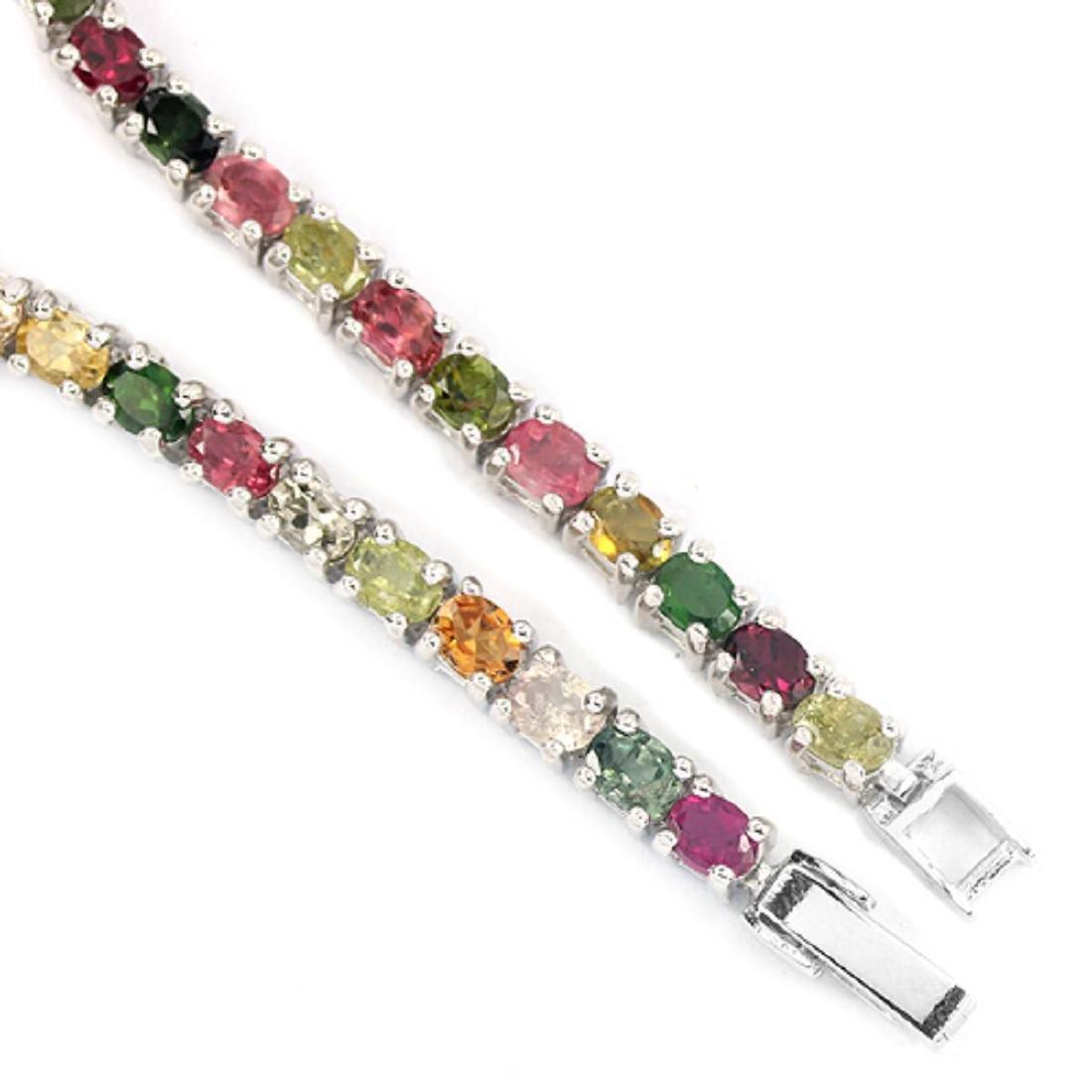 NATURL MULTI COLOR TOURMALINE Bracelet - 3