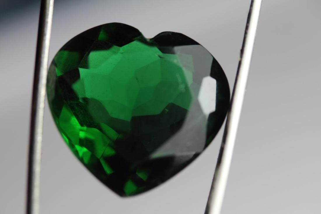 Healing Green Heart Amethyst 20.25 Carats
