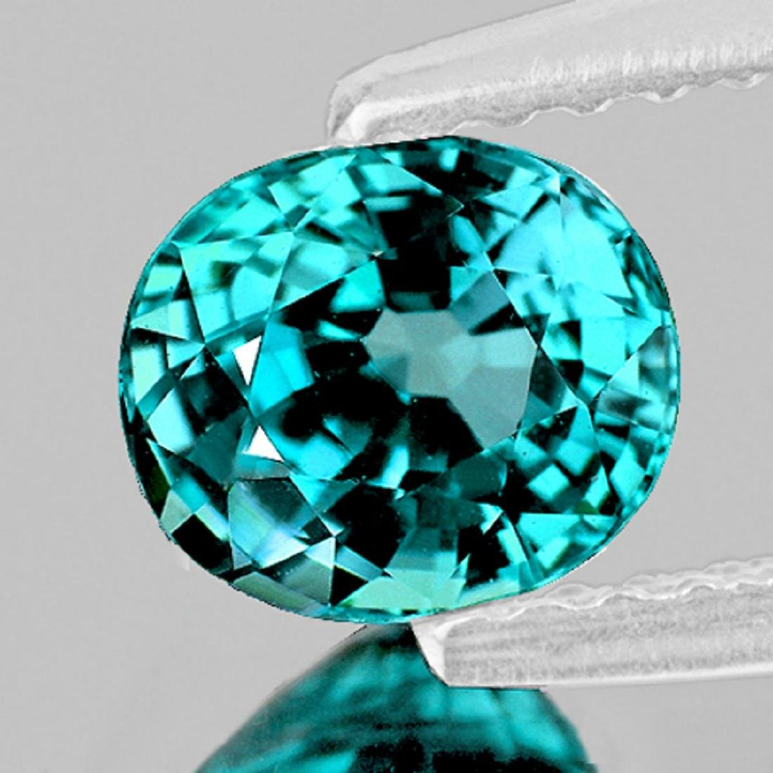 Natural Electric Blue Zircon 4.75 Ct - Flawless