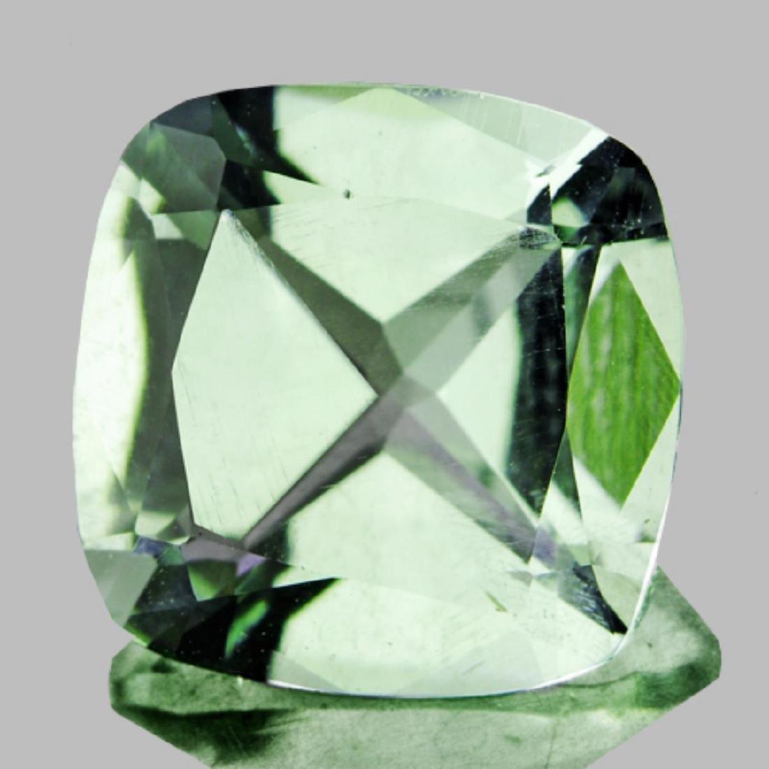 Natural Green Tea Color Green Amethyst 10 MM - FL