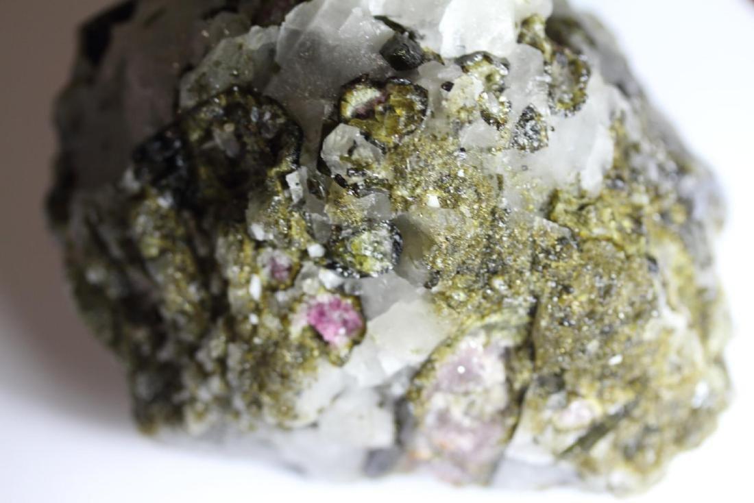 Natural Rough Green & Pink Tourmaline with Quartz 2 LBS - 3